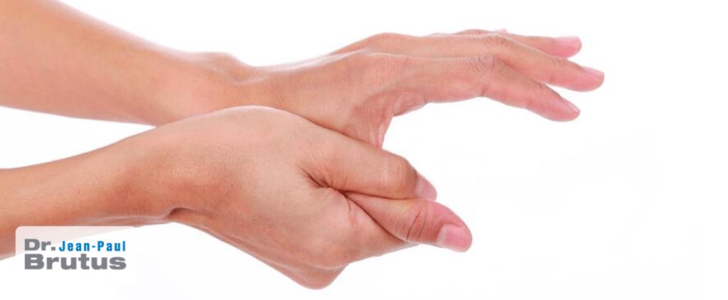 Souffrez vous du diab te surveillez vos mains dr jean for Douleur au genou gauche interieur