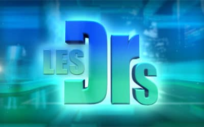 "Dr. Brutus invited to the ""Les Docteurs"" TV show"